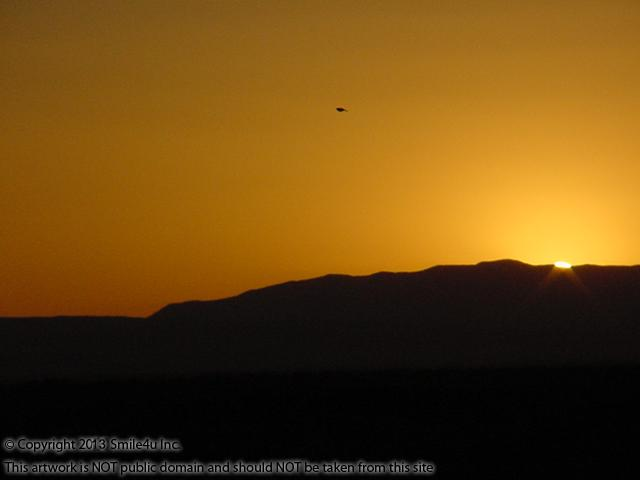 A stunning sunset over the Sandia Mountains from the Estancia Ranchettes in Moriarty New Mexico from these two adjoining one acre lots for sale. Sandia is Spanish for watermelon and holy cow I could see what they mean!