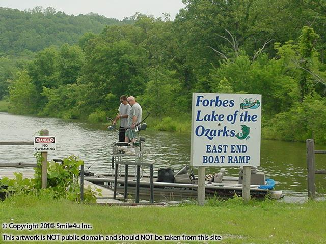 Fishing At Forbes Lake of the Ozarks By Osage Beach Missouri